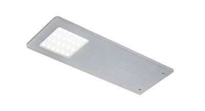Polar UP LED lampe 5W/24V Aluminium